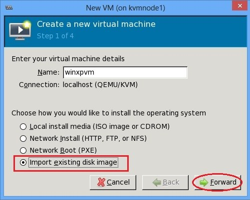 Converting a VMware Workstation virtual machine to KVM
